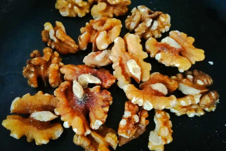Грецкие орехи лучше обжарить