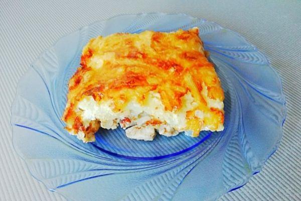 Приготовим мясо по-французски в духовке С картошкой и  сыром.