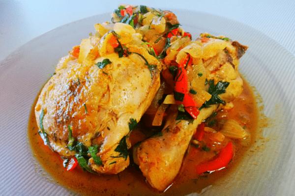 Рецепт чахохбили из курицы. Домашний вариант. Просто и вкусно
