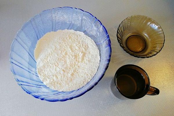 Ингредиенты для лаваша